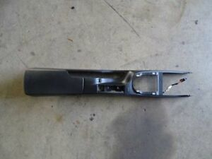 08 Porsche 911 997 Carrera Convertible Interior Center Console Black