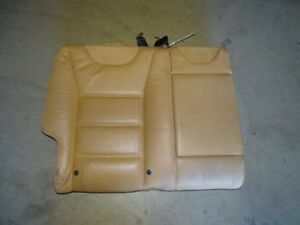 05 Porsche Cayenne Rear Right Passenger Side Upper Back Seat Leather Tan