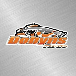 Dobyns Rods Vinyl Decal Sticker Fishing Lure Rod Reel Tackle Bass Boat Fish Bait