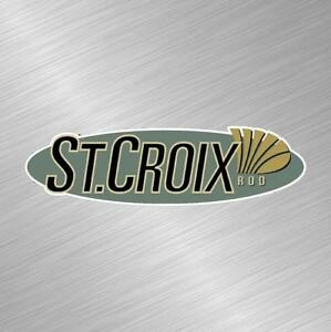 St Croix Vinyl Decal Sticker Fishing Lure Rod Reel Tackle Bass Boat Fish Bait