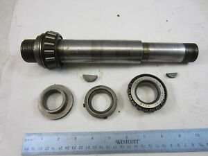 Atlas Craftsman 10 12 Lathe Headstock Spindle Timken Bearings Collars