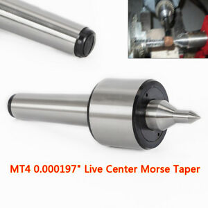 4mt 0 000197 Cnc Precision Long Spindle Lathe Live Center Morse Taper Mt4 Hot