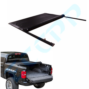 Roll Up Lock Soft Truck Tonneau Cover For 2004 2013 Ford F150 6 5ft 78in Bed
