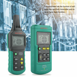 Ms6818 12v 400v Wire Cable Locator Metal Pipe Detector Tester Line Tracker Sps