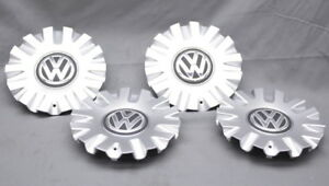 Oem Volkswagen Golf Set Of 4 Center Caps For The 17 Geneva Wheel 5g0 601 149