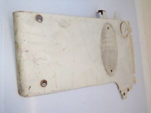 Farmall 340 Tractor Left Front White Panel