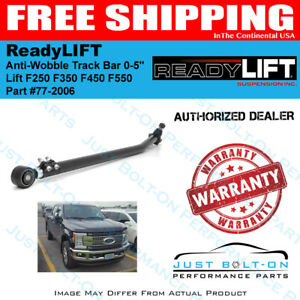 Readylift Anti wobble Track Bar 0 5 Lift 2017 2019 F250 F350 77 2004