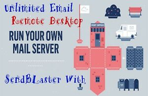 Email Server With Windows 2016 4gb Ram With Cpanel Webmail no Restriction