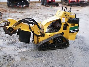 2014 Vermeer Sc30tx Self Propelled Stump Grinder