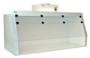 Cleatech Polypropylene 48 Ducted Fume Hood W Worksurface And Blower
