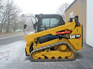 2017 Caterpillar 259d Trackloader Cab W Heat Ac 2 Speed Only 146 Hours