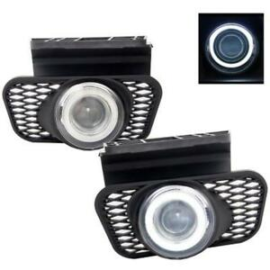 For 03 06 Chevy Silverado 1500 Avalanche Halo Projector Fog Lights Driving Lamps