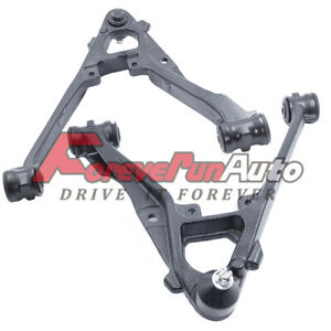 2pc Front Lower Control Arm Ball Joint For Chevy Silverado Gmc Sierra 1500 Tahoe