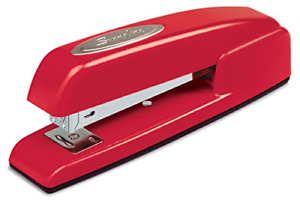 Swingline Staplers 747 Business Manual 25 Sheet Capacity Desktop Rio Red
