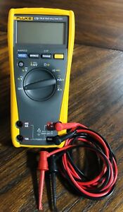 Fluke 179 True Rms Digital Multimeter Mint