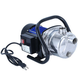 1 6 Hp Electric Booster Pump 1200w 3500l h Shallow Well Garden Water Pressure Ma
