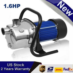 1200w 1000gph Garden Water Pump Shallow Well Pressurized Home Irrigation Ma