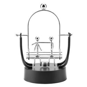 1pc Electronic Wiggle Device Perpetual Motion Desk Office Art Home Decor Gift