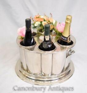 Sheffield Silver Plate Wine And Champagne Cooler Bucket