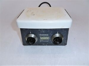 Corning Pc 351 Laboratory Hot Plate stirrer Limited Testing As is