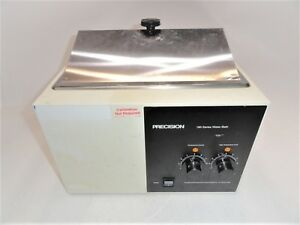 Precision Scientific 183 180 Series Water Bath Power Tested Only As is