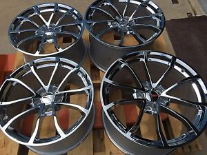 Chrome Gm Cup Corvette Wheels 19x10 20x12 C6 Zo6 Z06 Grand Sport Zr1 L k