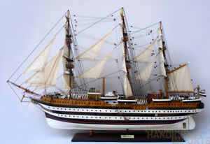 Amerigo Vespucci Ship Model 37 Full Assembled Ready For Display