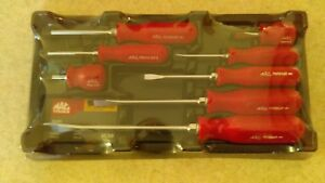Mac Tools Screwdriver Set Sdrb242apt 8 Piece Brand New With Tray Free Ship