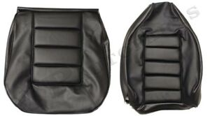 Interior Kit Volvo P1800 Seat Covers Front rear Black P1800 E es 1972 73