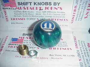 Mopar Dodge Plymouth Chrysler Custom Green Pearl Shift Knob car Truck