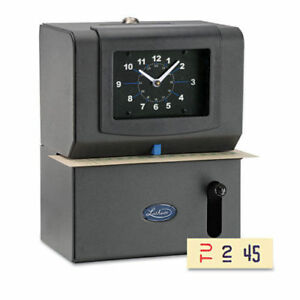 Lathem Time Heavy duty High volume Time Clock Mechanical Charcoal Lathem 2121