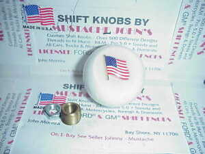 American Flag Custom Shift Knob Car Truck Hot Rod Motorcycle white
