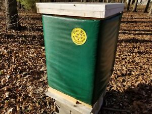 Plan Bee Winter Hive Wrap To Keep Your Honey Bees Warm And Dry 10 Frame 2 Deep