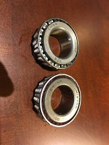 New Other Two 2x Wheel Bearings Lm12749