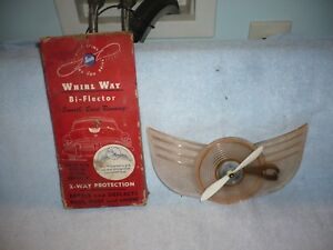 Lot Of 2 Vintage Sinko Whirl Way Bi Flector One Blue One Is Pink Read