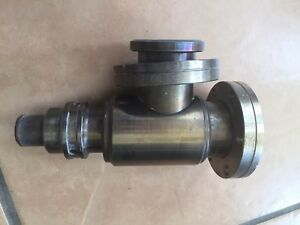 Varian Right Angle Manual Bakable Valve 2 75 Conflat 951 5027 Uhv Made In Usa