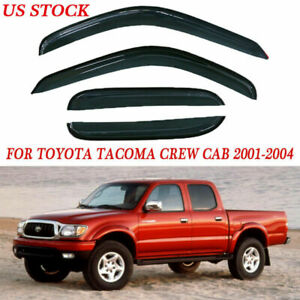 Window Visor Rain Guard Cover Trim Replace For Toyota Tacoma 2001 2002 2003 2004