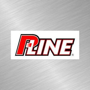 Pline Vinyl Decal Sticker Fishing Lure Rod Reel Tackle Bass Boat Bait Fish