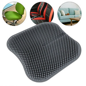 Universal Silicone Car Seat Cushion Gel Massage Auto Office Chair Pad Non Slip