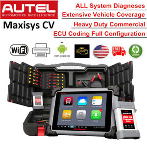 Autel Maxisys Cv Ms908cv Auto Diesel Truck Heavy Duty Hd Diagnostic Scanpad Tool