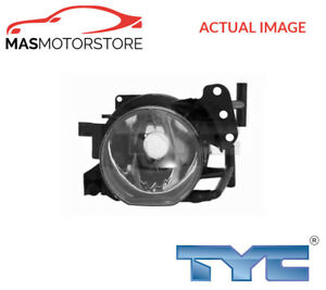 19 0471001 Tyc Right Driving Fog Light Lamp I New Oe Replacement