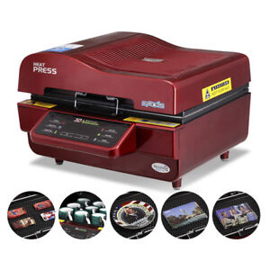 3d Sublimation Vacuum Heat Press Machine Transfer For Phone Cases Mugs Usa Stock