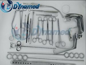 Tonsillectomy Set Of 27 Pcs Surgical Instruments Best Quality