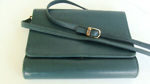 Pocket 7 8 Rings I Green Leather Franklin Covey Quest Planner binder Purse