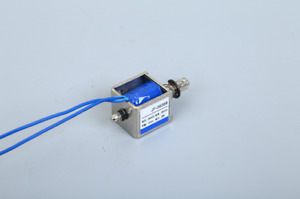 Dc 24v 2a 20n 10mm Pull Push Type Linear Motion Solenoid Electromagnet