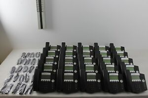 Lot Of 25 Polycom Soundpoint Ip 450 With 10 Polycom Soundpoint Ip 650 Phones