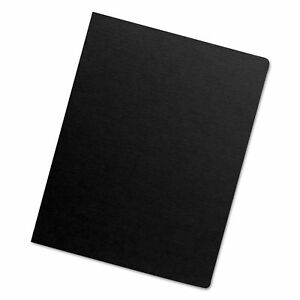 Executive Presentation Binding System Covers 11 1 4 X 8 3 4 Black 200 pack