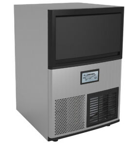 Commercial Undercounter Ice Maker 55 Lb With Bin Storage