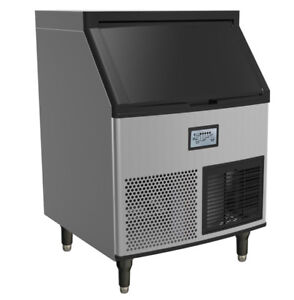 Commercial Undercounter Ice Maker 280 Lb With Bin Storage