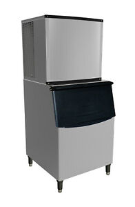 Commercial Modular Ice Maker 1000 Lb Per Day With Bin Storage Included